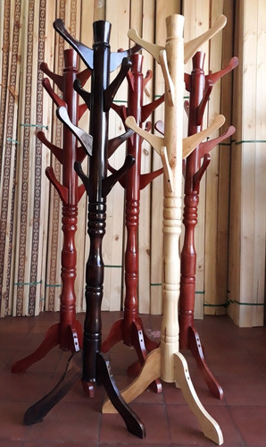perchero en madera  envio gratis a nivel nacional