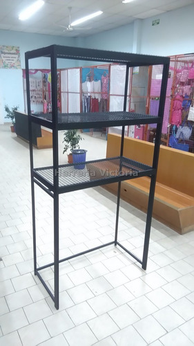 perchero exibirdor de ropa para local estanteria fabricantes