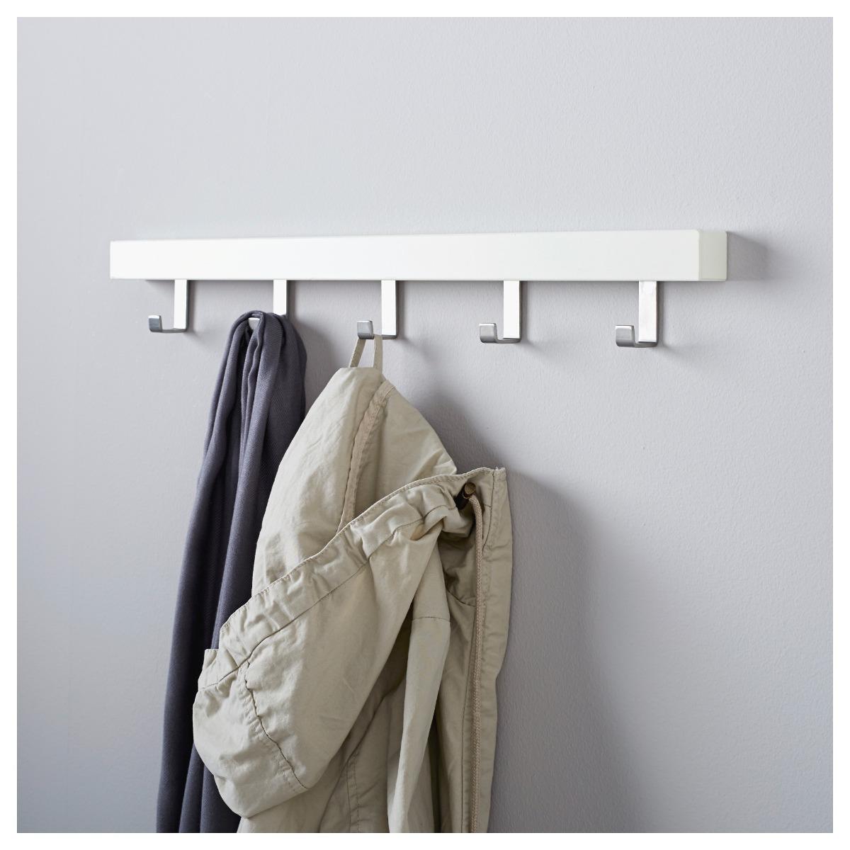 Perchero Para Puerta O Pared Color Blanco Tjusig Ikea Suecia