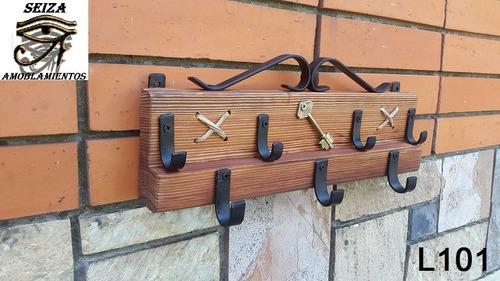perchero porta llave pinotea