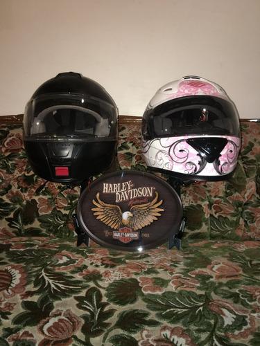 perchero soporte para cascos rack harley davidson