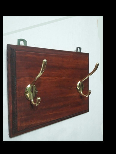percheros madera para pared 2  perchas excelente colgante