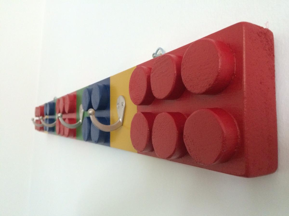 Percheros para ni os en forma de legos en - Perchero pared infantil ...