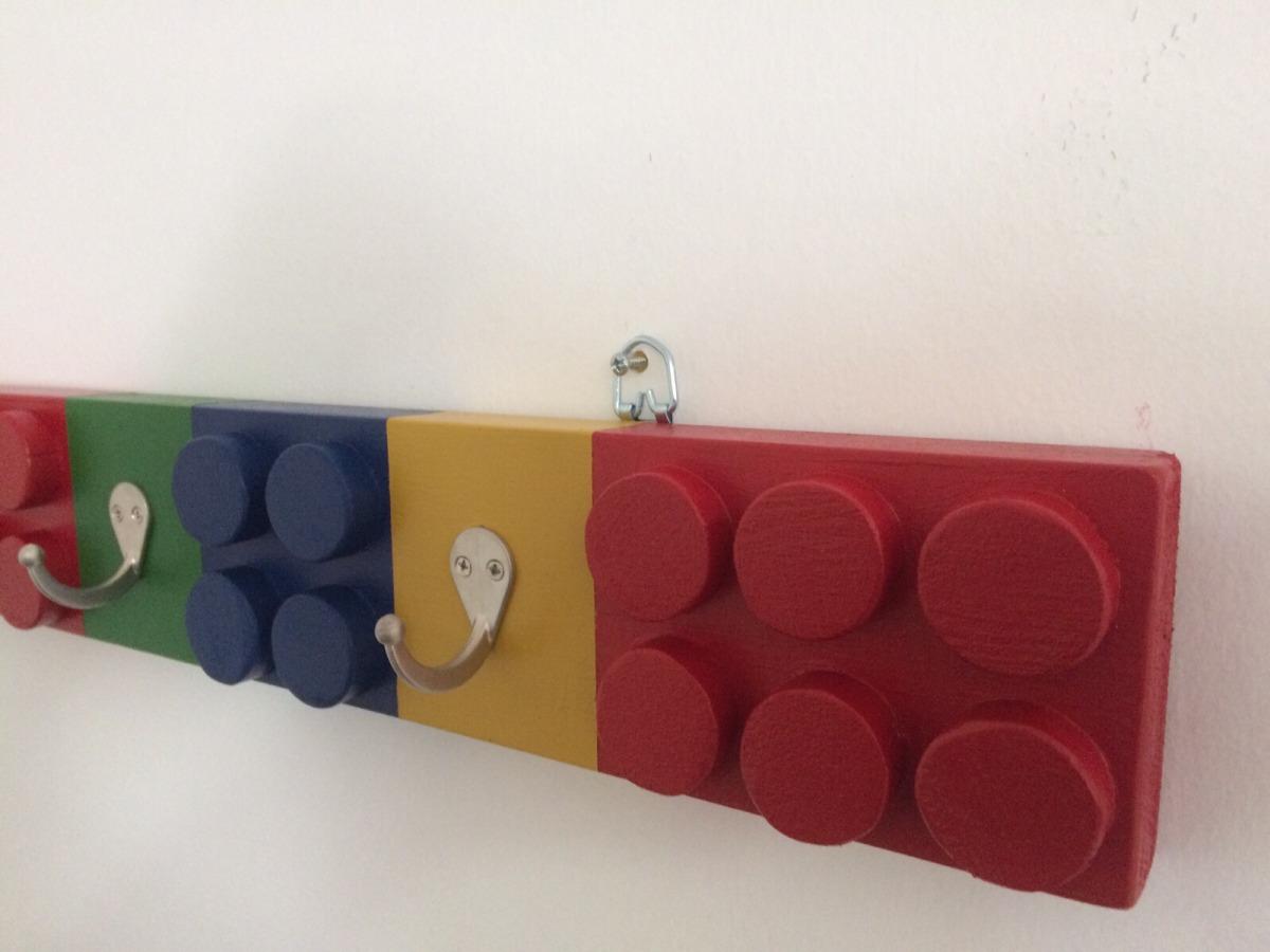 Percheros para ni os en forma de legos en mercado libre - Percheros infantiles de pared ...