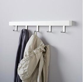colores delicados boutique de salida el mejor Perchero/soporte Blanco De Pared O Puerta Estilo Scandinavo Ikea - Tjusig