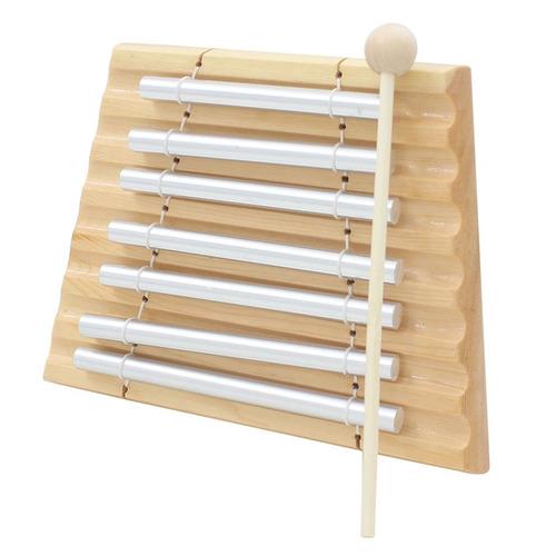 percusión de madera siete bar chime percusión 7 toner instru