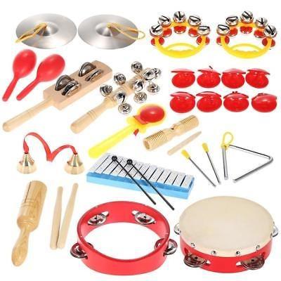 percusión set instrumentos musicales juguetes para los niños