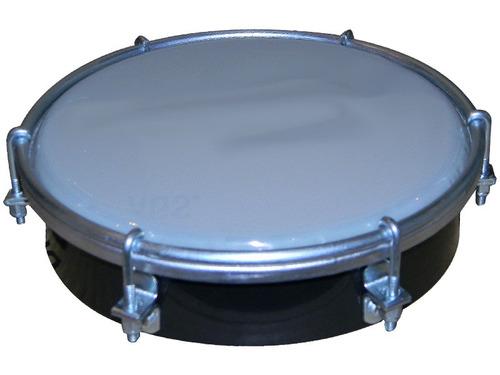 percusion tamborin izzo 3691 abs parche opaco 6 pulgadas