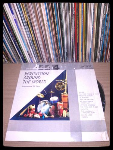 percussion around  - vinilo nacional - un tesoro musical