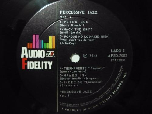 percussive jazz vol. 1