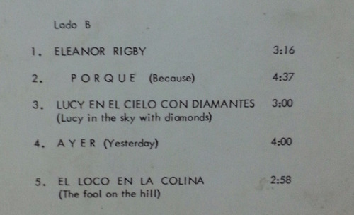 percy faith  el album de los beatles  (lp)