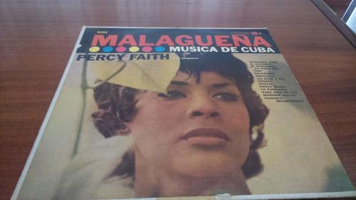 percy faith - lp malagueña, musica de cuba