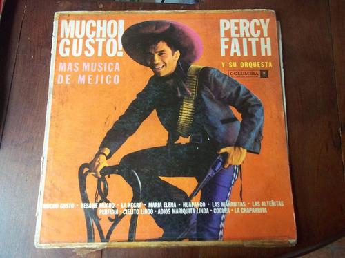 percy faith mucho gusto vinilo lp mexico en la plata