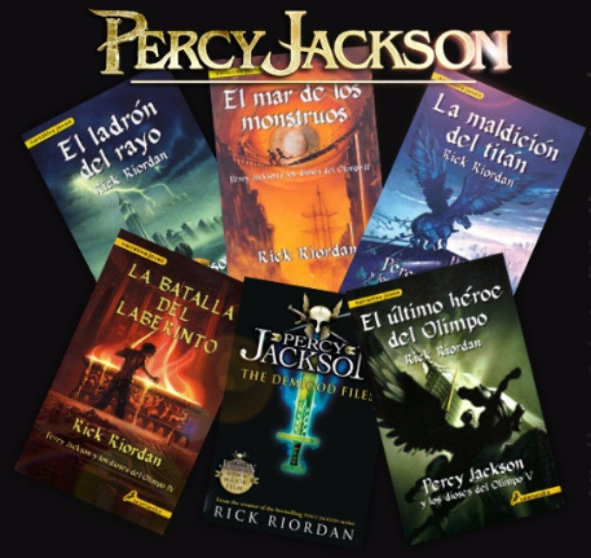 Resultado de imagen para percy jackson saga