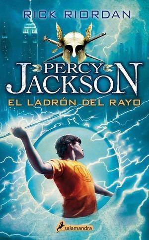 percy jackson y los dioses del olimpo: el ladrón del rayo