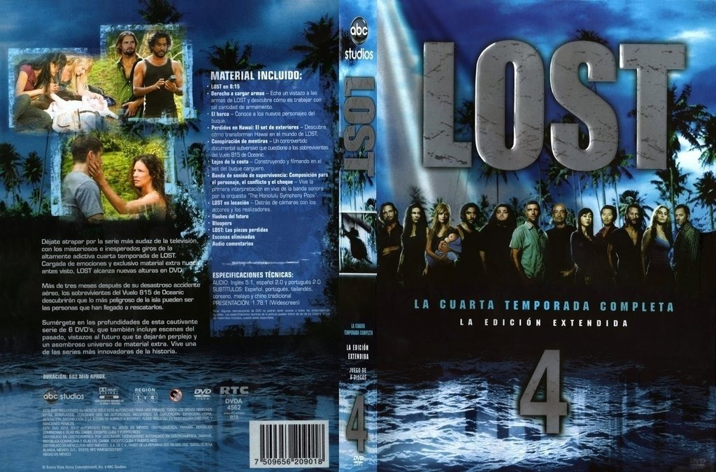 Perdidos 4ª Temporada - $ 100,00 en Mercado Libre