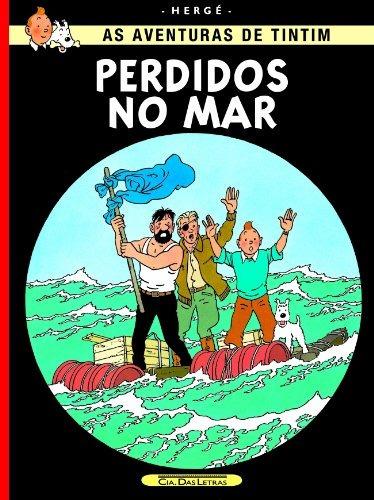 perdidos no mar  de hergé quadrinhos na cia