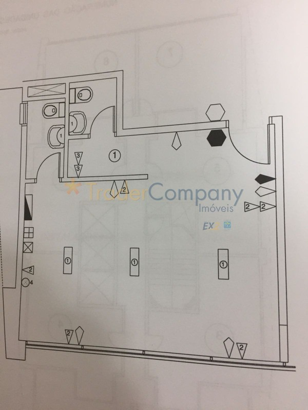 perdizes sala comercial 33,00m2 2 banheiros 1 vaga próximo ao shopping bourbon - sa00062