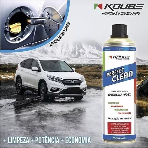 perfect clean flex gasolina, etanol e gnv 500ml koube