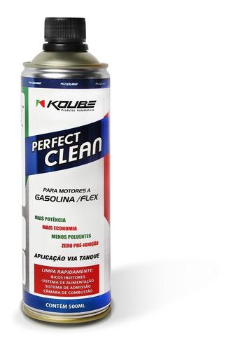 perfect clean motor gasolina alcool e flex koube 500ml