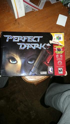 perfect dark 64 buen estado