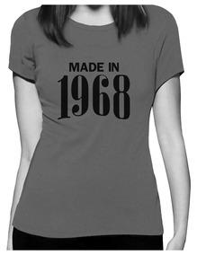 Cumpleaños Regalo 50 1968 Camiseta En Mujeres Perfecto De 35Ljq4AR