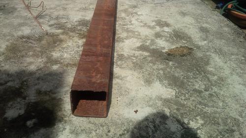 perfil 100x100 estructural cortado a 2.40 m