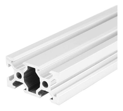 perfil aluminio estructural 2040 v slot 1500mm