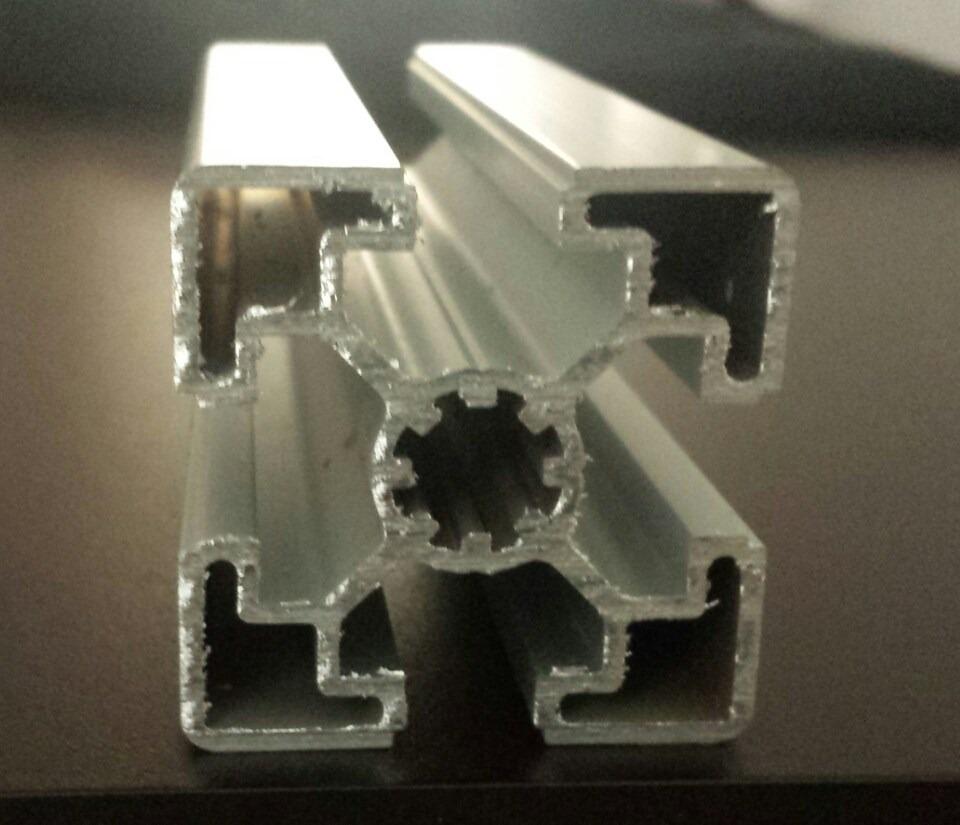Perfil aluminio estructural 45x45 1 en mercado - Perfil de aluminio precio ...