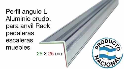 perfil angulo 25x25 para rack anvil xpro t178 3 mtrs largo