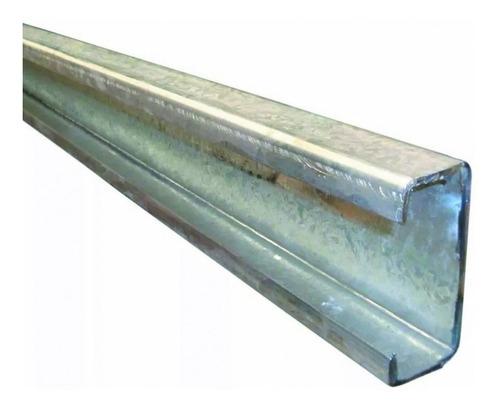 perfil c de chapa galvanizado 120 x 50 x 15 x 1.6 mm x 6mts