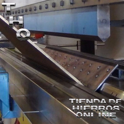 perfil c  hierro galvanizado 100x37x20 estructural x mt tho