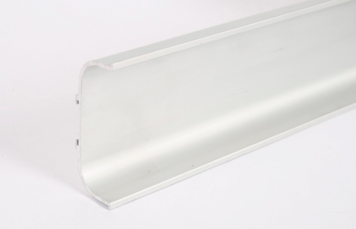 Perfil C Para Cajon Mueble De Cocina - Aluminio Anodizado - $ 1.045 ...