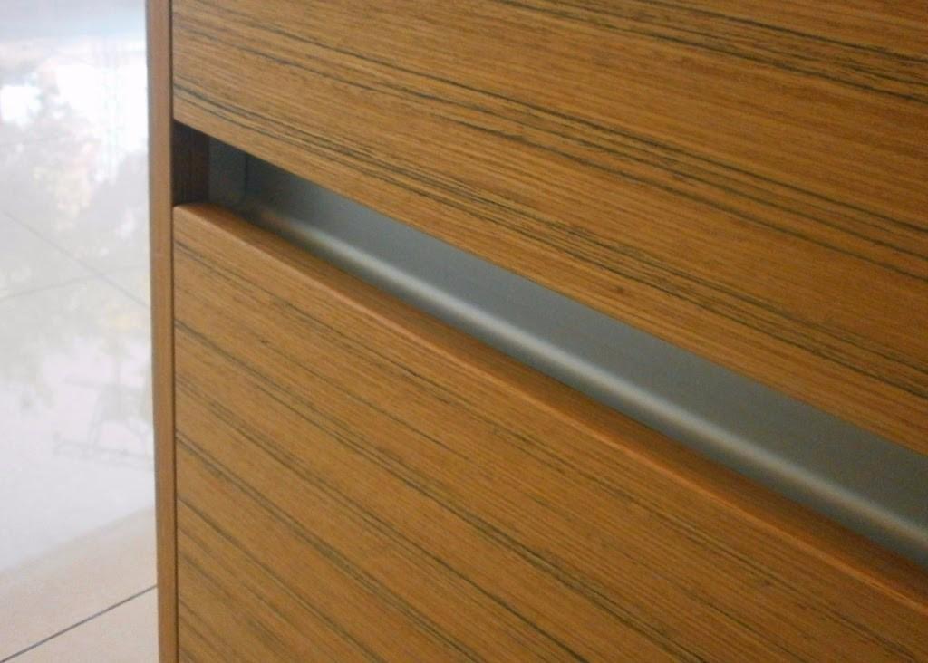 Perfil C Para Cajon Mueble De Cocina - Aluminio Anodizado - $ 444,00 ...