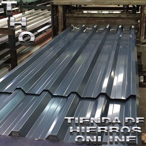 perfil c u hierro galvanizado 100x37x20 estructural x mt tho