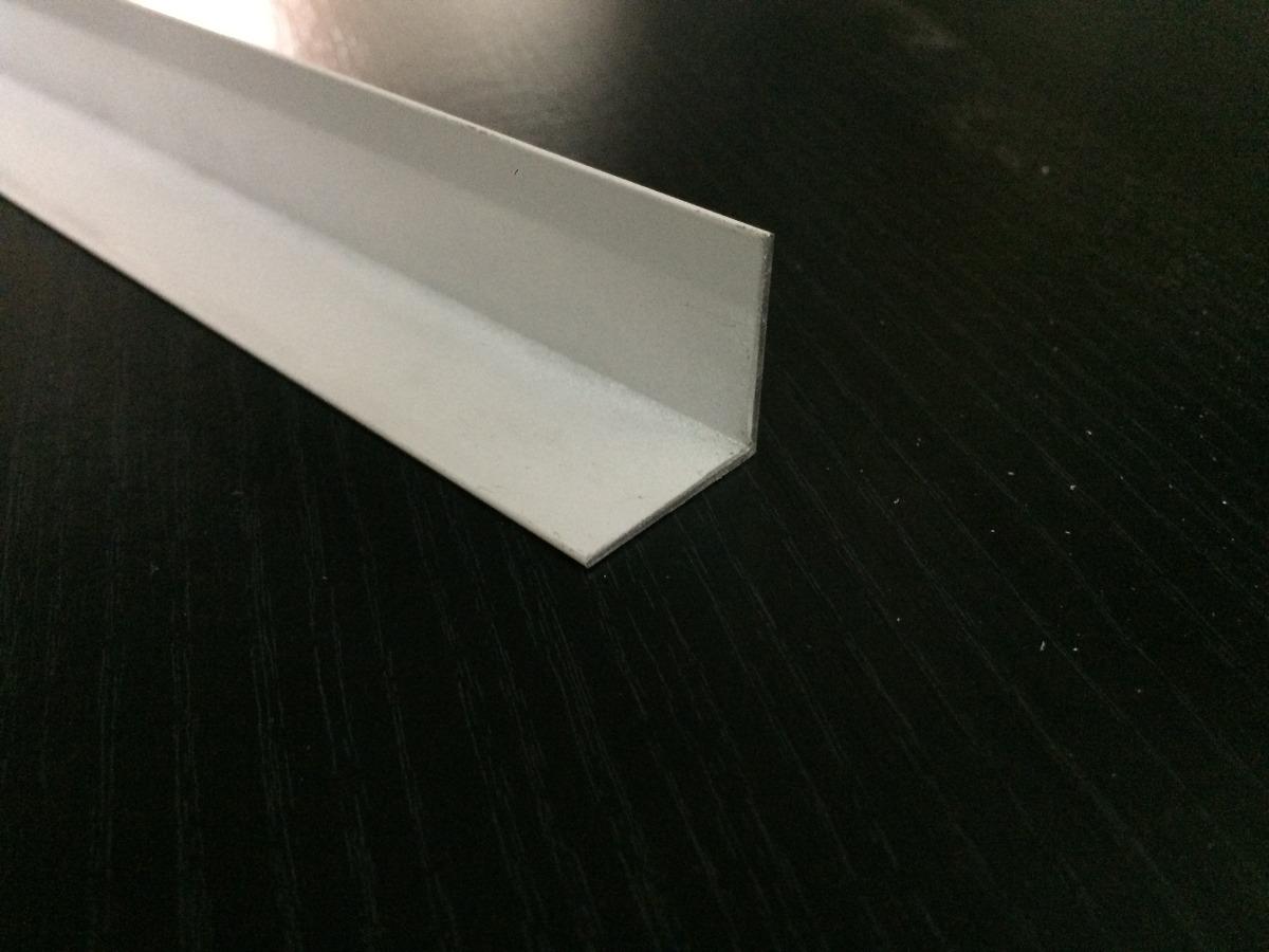 Perfil De Aluminio Angulo 25x25 Blanco - $ 80,00 en Mercado Libre