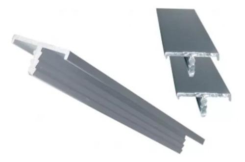 perfil de aluminio cantonera brillante o mate 15 mm ó 18 mm