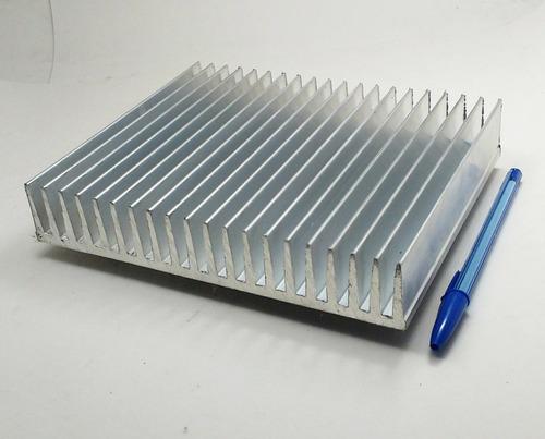 perfil de aluminio dissipador calor  19,3cm largura c/ 80cm