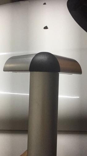 perfil de aluminio estructural 40x40mm curvo.