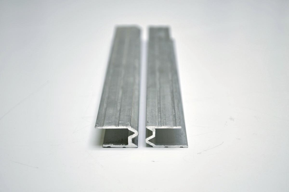 perfil de aluminio hibrido 9mm para fabricar estuches
