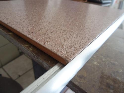 perfil de aluminio para ceramica 3mts