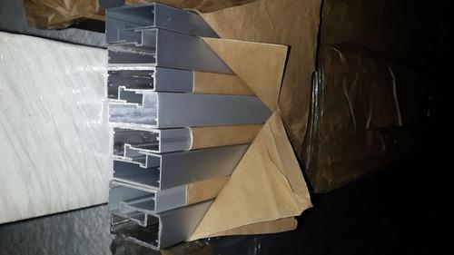 Perfil de aluminio para puertas de cocinas y muebles bs for Perfiles aluminio para muebles