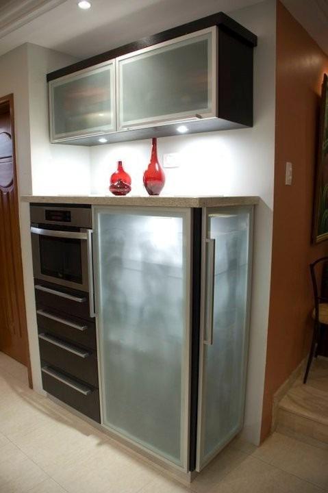 perfil de aluminio para puertas y muebles modelo f 010