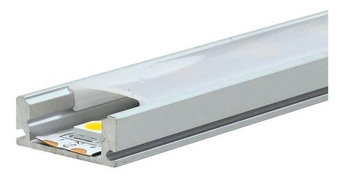 perfil difusor para tira led 2835 5050 5630 1 metro cocina