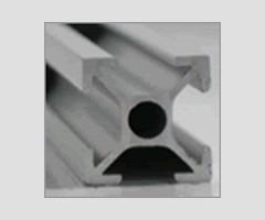 perfil estrutural em alumínio  20x20 básico