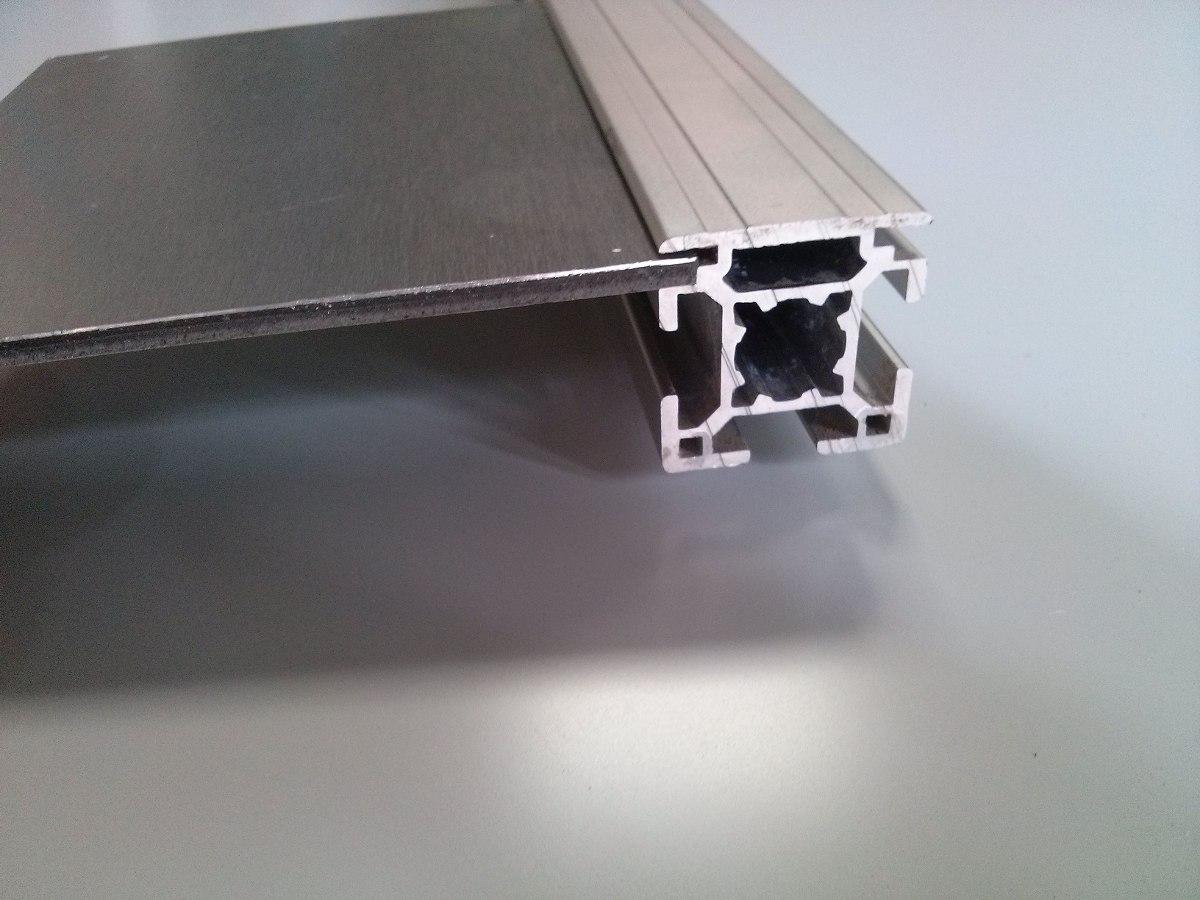 Perfil estrutural em alum nio 30x30mm de face chapas r - Perfiles de chapa ...