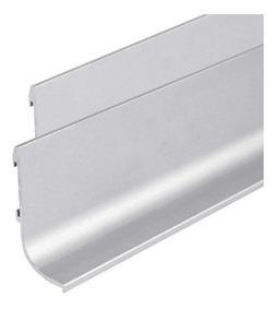 Perfil J Para Cajon Mueble De Cocina Aluminio Anodizado Emr