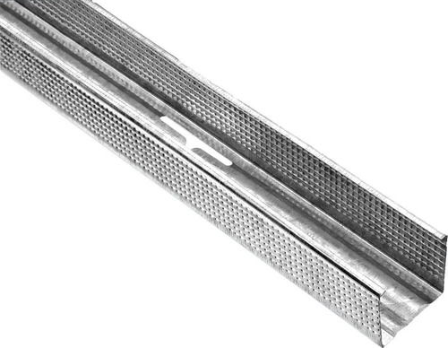 perfil montante galvanizado 35mm calibre 26 0.39mm para yeso