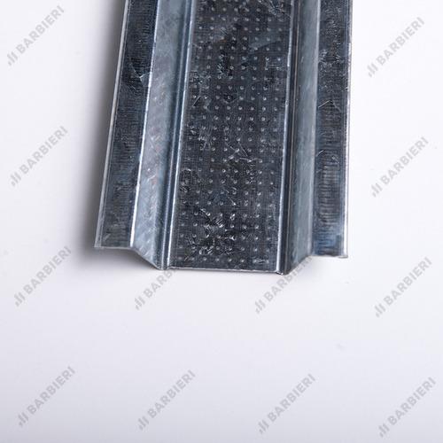 perfil omega 12,5mm x 2,60 mts drywall plus barbieri