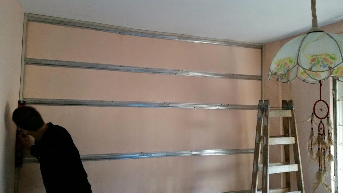 Perfil omega para revestimientos en yeso o pvc 3 mts - Imprimacion para paredes de yeso ...
